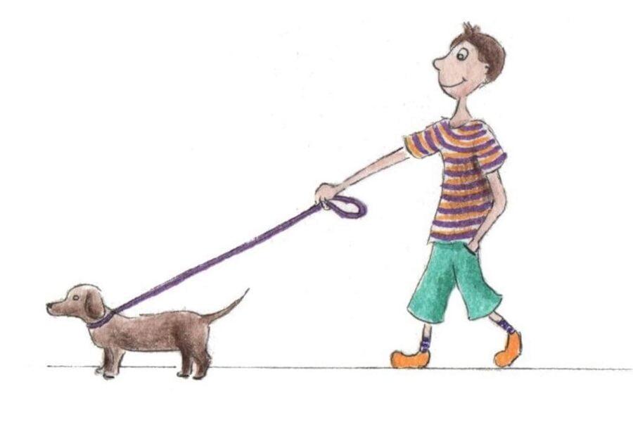 Apprendre à tenir son chien en laisse